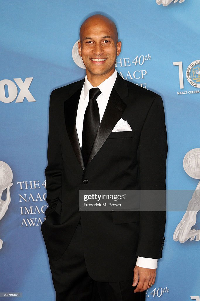 Actor Keegan Michael Key arrives at the 40th NAACP Image Awards held at the Shrine Auditorium on February 12, 2009 in Los Angeles, California.