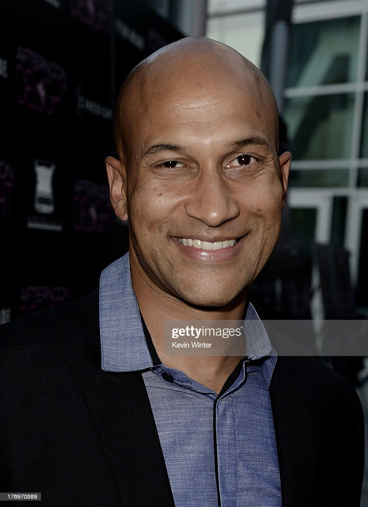 Actor Keegan Michael Key arrives at the premiere of The Film Arcade and Cinedigm's 'Afternoon Delight' at the Arclight Theatre on August 19, 2013 in Los Angeles, California.