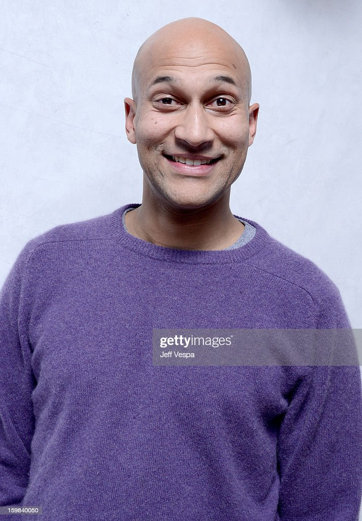 Actor Keegan Michael Key poses for a portrait during the 2013 Sundance Film Festival at the WireImage Portrait Studio at Village At The Lift on January 21 2013 in Park City, Utah.