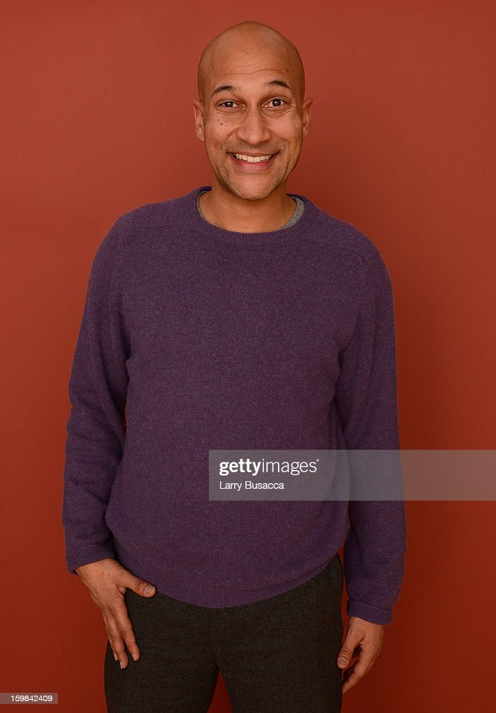 Actor Keegan Michael Key poses for a portrait during the 2013 Sundance Film Festival at the Getty Images Portrait Studio at Village at the Lift on January 21, 2013 in Park City, Utah.
