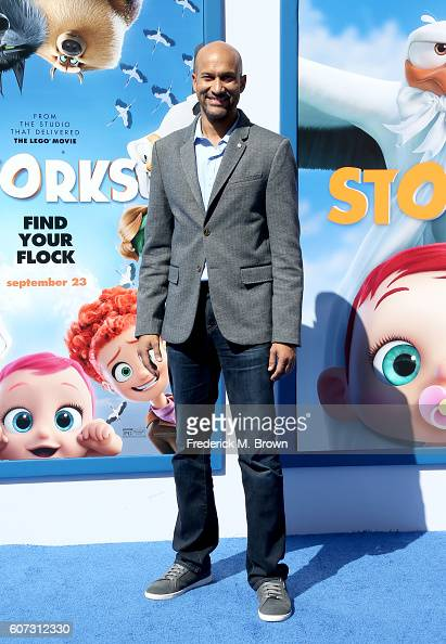 Actor KeeganMichael Key arrives at the premiere of Warner Bros Pictures' 'Storks' at Regency Village Theatre on September 17 2016 in Westwood...