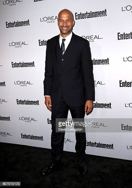 Actor KeeganMichael Key attends Entertainment Weekly's 2016 PreEmmy Party at Nightingale Plaza on September 16 2016 in Los Angeles California