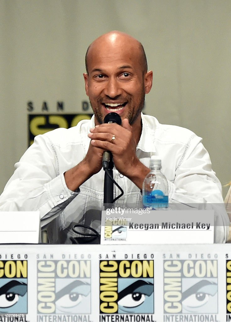 Actor Keegan-Michael Key attends the 20th Century Fox presentation during Comic-Con International 2014 at San Diego Convention Center on July 25, 2014 in San Diego, California.