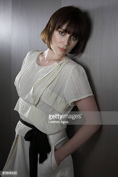 Actor Keeley Hawes poses for a portrait shoot for You magazine in London on March 9 2009