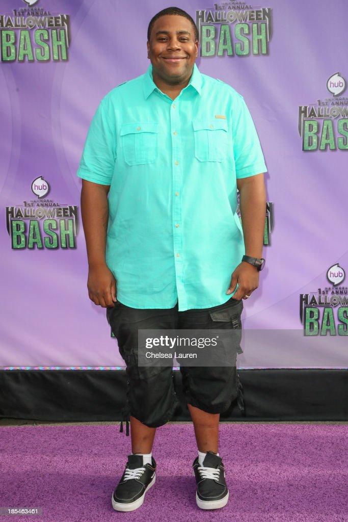 Actor Keenan Thompson arrives at Hub Network's 1st annual Halloween bash at Barker Hangar on October 20, 2013 in Santa Monica, California.