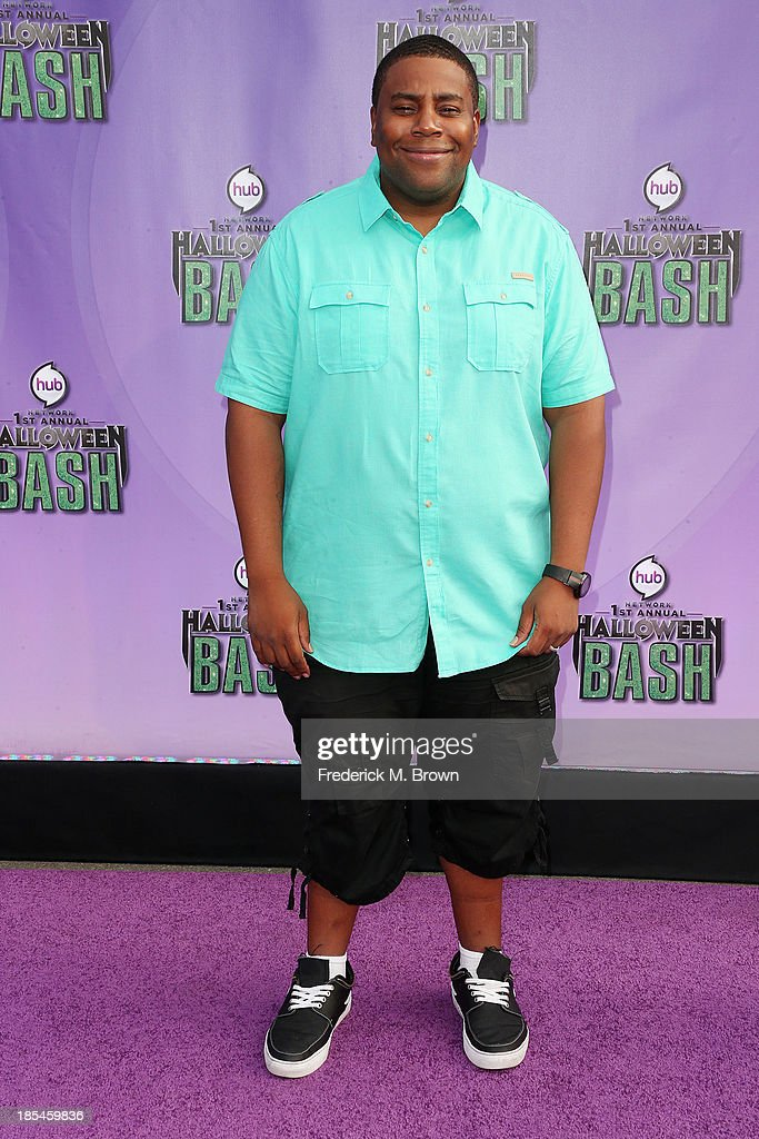 Actor Keenan Thompson attends Hub Network's First Annual Halloween Bash in Barker Hangar at the Santa Monica Airport on October 20, 2013 in Santa Monica, California.