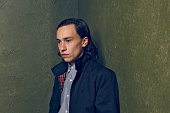 Actor Keir Gilchrist from 'It Follows' poses for a portrait at the Village at the Lift Presented by McDonald's McCafe during the 2015 Sundance Film...