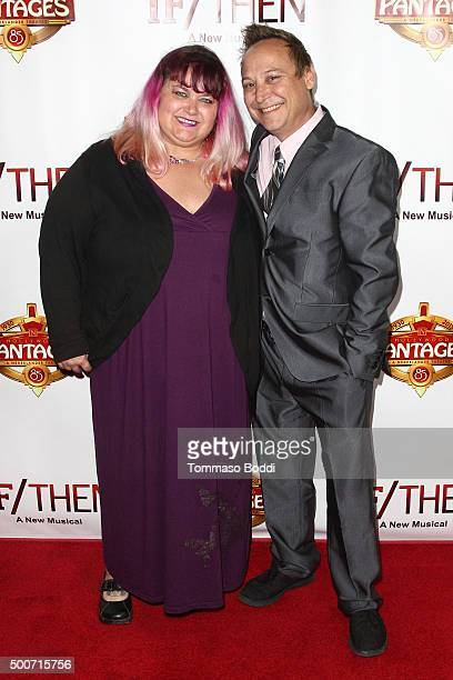 Actor Keith Coogan and guest attend the premiere of 'If/Then' held at the Pantages Theatre on December 9 2015 in Hollywood California