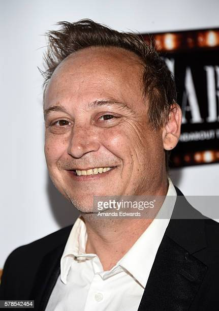 Actor Keith Coogan arrives at the opening of 'Cabaret' at the Hollywood Pantages Theatre on July 20 2016 in Hollywood California