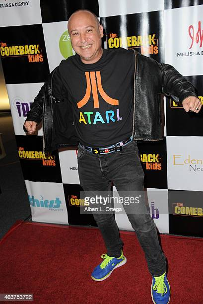 Actor Keith Coogan arrives for 'The Comeback Kids' Los Angeles Special Screening held at Landmark Theatre on February 17 2015 in Los Angeles...