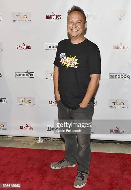 Actor Keith Coogan attends the grand opening of Sandbox on September 1 2016 in Los Angeles California