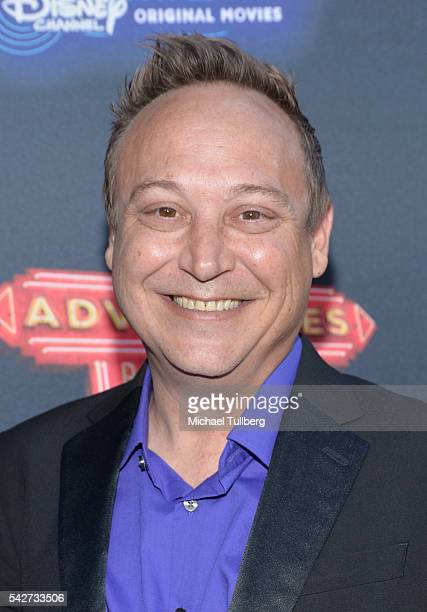 Actor Keith Coogan attends the premiere of 100th Disney Channel's Original Movie 'Adventures In Babysitting' and celebration of all DCOMS at...