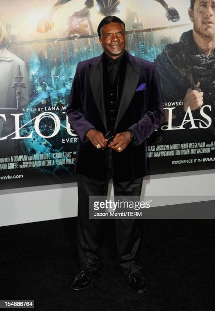 Actor Keith David arrives at Warner Bros Pictures' 'Cloud Atlas' premiere at Grauman's Chinese Theatre on October 24 2012 in Hollywood California