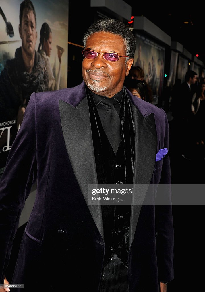 Actor <a gi-track='captionPersonalityLinkClicked' href=/galleries/search?phrase=Keith+David&family=editorial&specificpeople=243019 ng-click='$event.stopPropagation()'>Keith David</a> arrives at Warner Bros. Pictures' 'Cloud Atlas' premiere at Grauman's Chinese Theatre on October 24, 2012 in Hollywood, California.