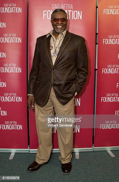 Actor Keith David attends SAGAFTRA Foundation's Conversations with 'Greenleaf' at SAG Foundation Actors Center on October 17 2016 in Los Angeles...