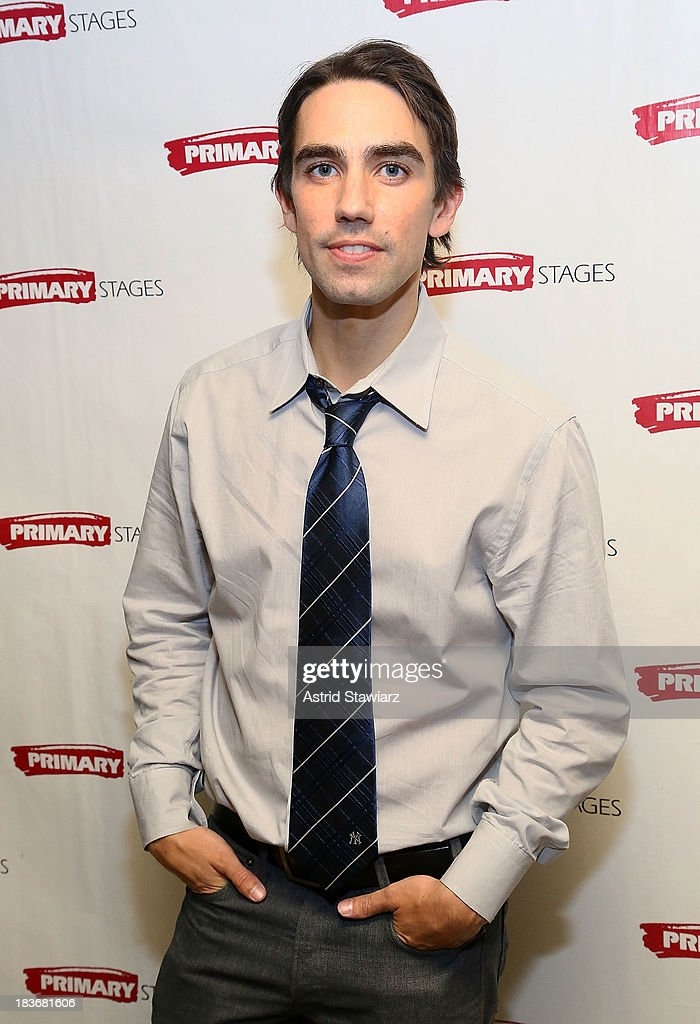 Actor Keith Nobbs attends the 'Bronx Bombers' opening night after Party at West Bank Cafe on October 8, 2013 in New York City.