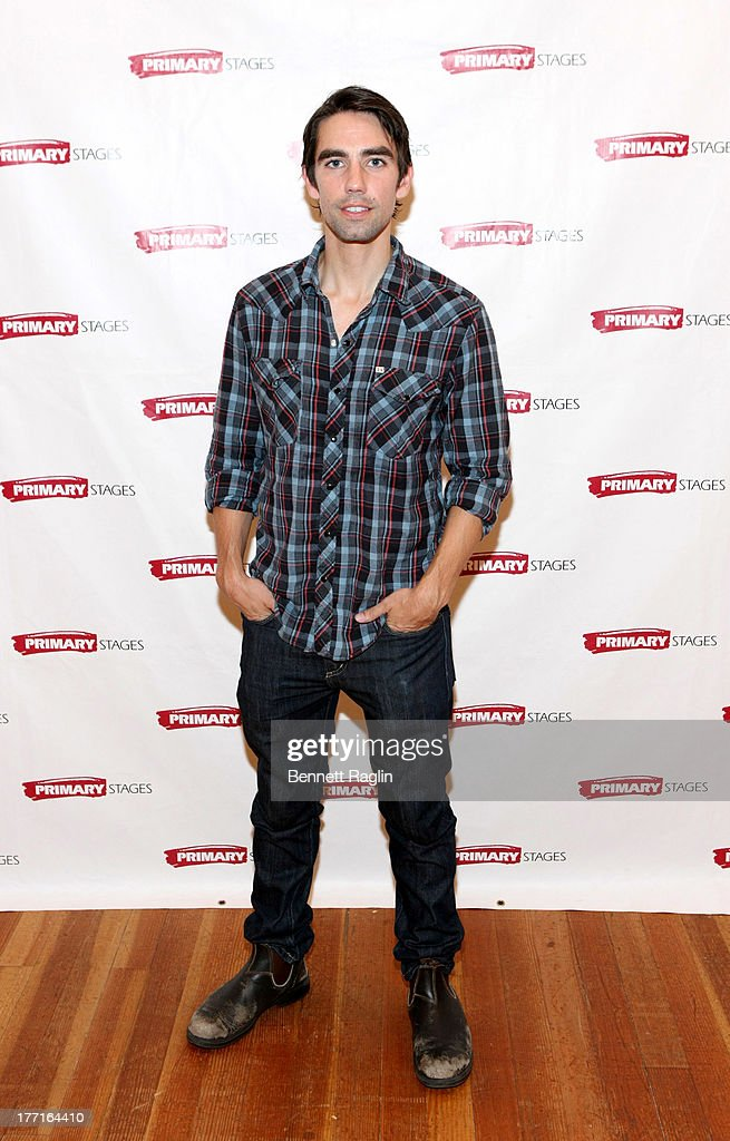 Actor Keith Nobbs attends the cast meet and greet for the upcoming Off-Broadway production 'Bronx Bombers' at Playwrights Horizons Rehearsal Studios on August 21, 2013 in New York City.