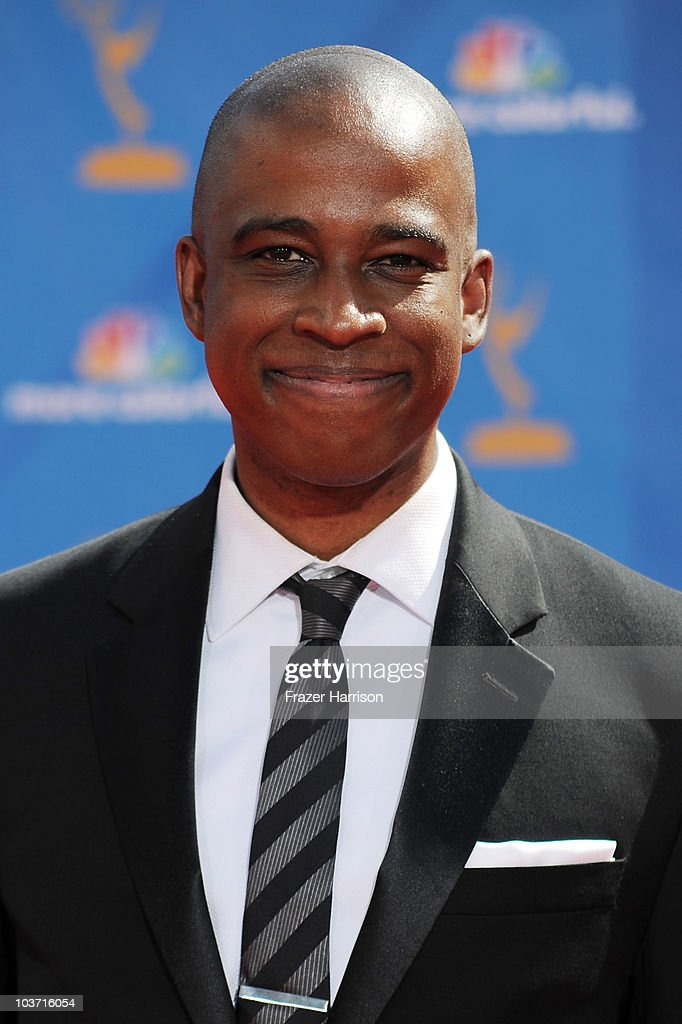 Actor Keith Powell arrives at the 62nd Annual Primetime Emmy Awards held at the Nokia Theatre L.A. Live on August 29, 2010 in Los Angeles, California.