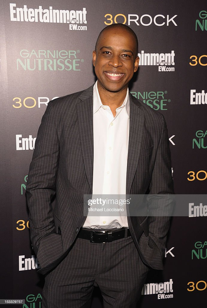 Actor Keith Powell attends Entertainment Weekly and NBC's celebration of the final season of 30 Rock sponsored by Garnier Nutrisse on October 3, 2012 in New York City.