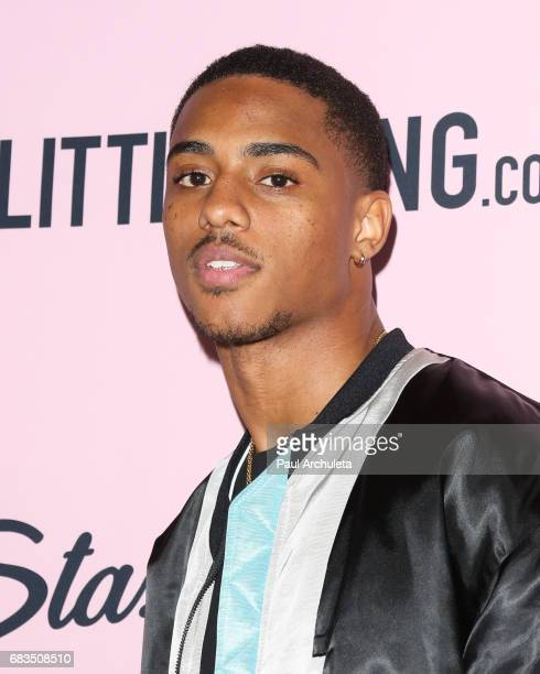 Actor Keith Powers attends the 'PrettyLittleThing' campaign launch on April 11 2017 in Los Angeles California
