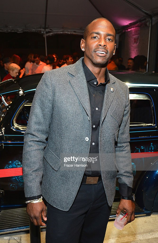 Actor Keith Robinson attends SA Studios and Mister Cartoon VIP Screening and After Party of Warner Brothers Pictures 'Gangster Squad' at SA Studios on November 29, 2012 in Los Angeles, California.