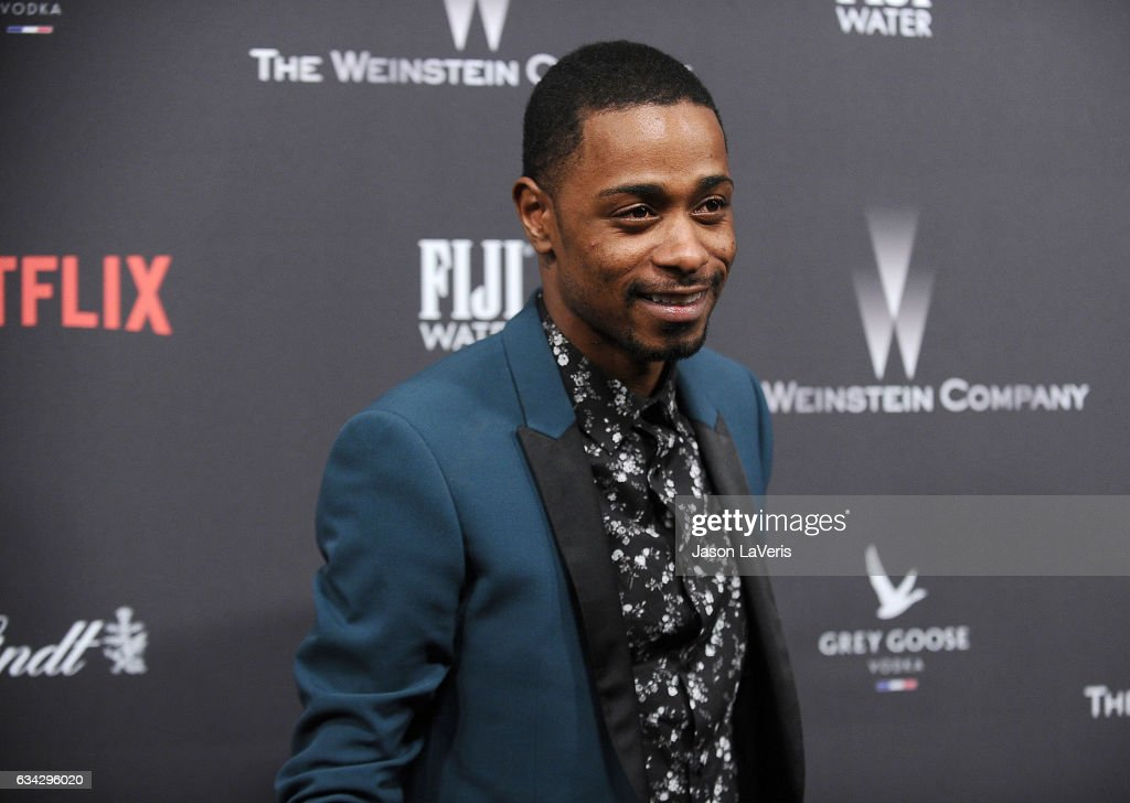 Actor Keith Stanfield attends the 2017 Weinstein Company and Netflix Golden Globes after party on January 8, 2017 in Los Angeles, California.