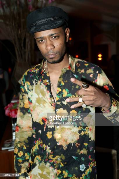 Actor Keith Stanfield attends Vanity Fair and L'Oreal Paris Toast to Young Hollywood hosted by Dakota Johnson and Krista Smith at Delilah on February...