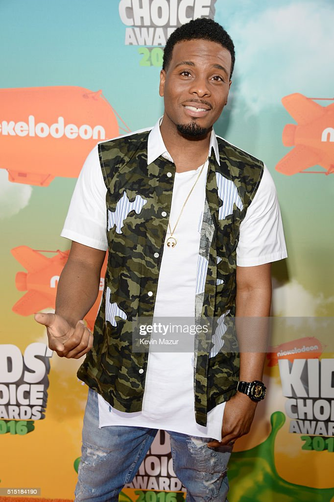 Actor Kel Mitchell attends Nickelodeon's 2016 Kids' Choice Awards at The Forum on March 12, 2016 in Inglewood, California.