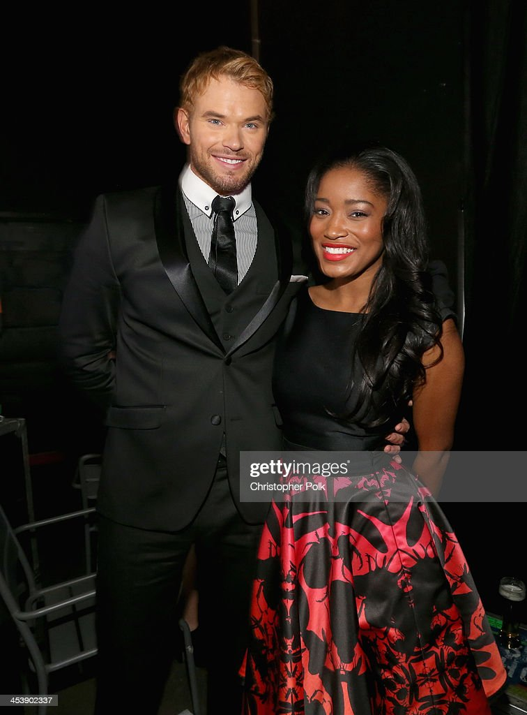 Actor <a gi-track='captionPersonalityLinkClicked' href=/galleries/search?phrase=Kellan+Lutz&family=editorial&specificpeople=683287 ng-click='$event.stopPropagation()'>Kellan Lutz</a> (L) and actress <a gi-track='captionPersonalityLinkClicked' href=/galleries/search?phrase=Keke+Palmer&family=editorial&specificpeople=653121 ng-click='$event.stopPropagation()'>Keke Palmer</a> attend the 2nd Annual Saving Innocence Gala at The Crossing on December 5, 2013 in Los Angeles, California.