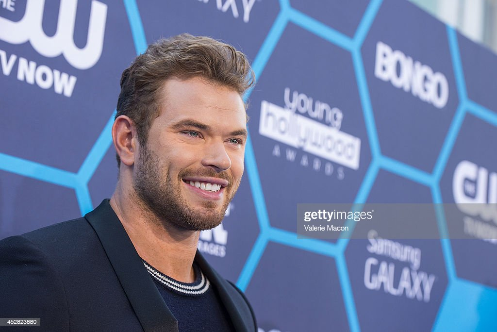 Actor <a gi-track='captionPersonalityLinkClicked' href=/galleries/search?phrase=Kellan+Lutz&family=editorial&specificpeople=683287 ng-click='$event.stopPropagation()'>Kellan Lutz</a> arrives at the 16th Annual Young Hollywood Awards at The Wiltern on July 27, 2014 in Los Angeles, California.