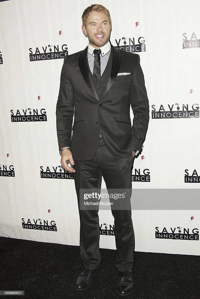 Actor <a gi-track='captionPersonalityLinkClicked' href=/galleries/search?phrase=Kellan+Lutz&family=editorial&specificpeople=683287 ng-click='$event.stopPropagation()'>Kellan Lutz</a> arrives at the 2nd Annual Saving Innocence Gala Hosted By <a gi-track='captionPersonalityLinkClicked' href=/galleries/search?phrase=Kellan+Lutz&family=editorial&specificpeople=683287 ng-click='$event.stopPropagation()'>Kellan Lutz</a> And Keke Palmer - Arrivals at The Crossing on December 5, 2013 in Los Angeles, California.