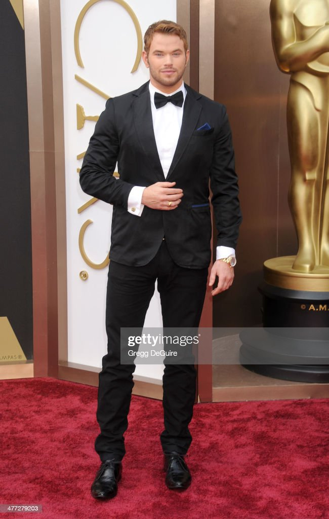 Actor Kellan Lutz arrives at the 86th Annual Academy Awards at Hollywood & Highland Center on March 2, 2014 in Hollywood, California.