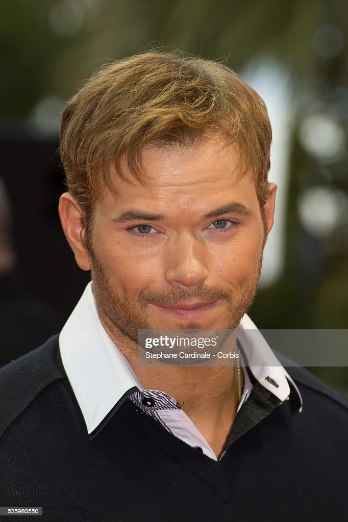 Actor Kellan Lutz arrives at the World Music Awards at Sporting Monte-Carlo on May 27, 2014 in Monte-Carlo, Monaco.