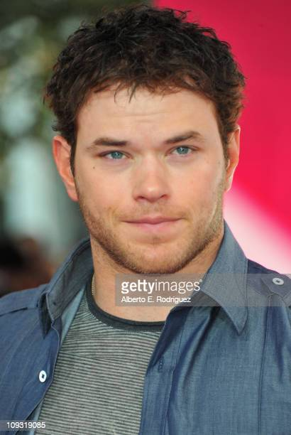 Actor Kellan Lutz arrives to the TMobile Magenta Carpet at the 2011 NBA AllStar Game on February 20 2011 in Los Angeles California