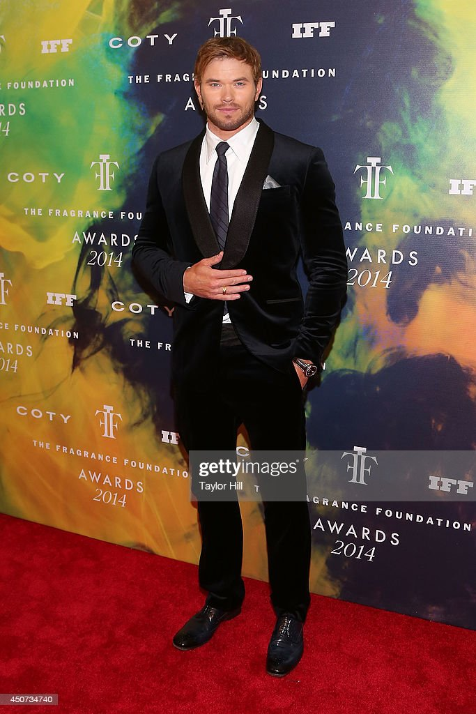 Actor <a gi-track='captionPersonalityLinkClicked' href=/galleries/search?phrase=Kellan+Lutz&family=editorial&specificpeople=683287 ng-click='$event.stopPropagation()'>Kellan Lutz</a> attends 2014 Fragrance Foundation awards at Alice Tully Hall, Lincoln Center on June 16, 2014 in New York City.