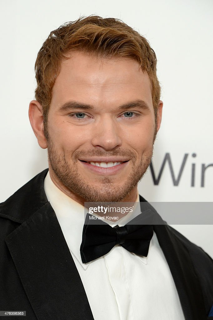 Actor Kellan Lutz attends the 22nd Annual Elton John AIDS Foundation Academy Awards Viewing Party at The City of West Hollywood Park on March 2, 2014 in West Hollywood, California.