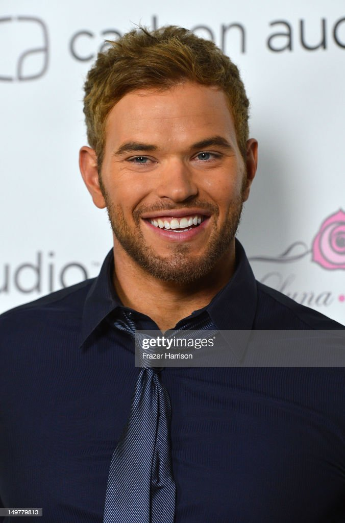 Actor Kellan Lutz attends the Carbon Audio's Zooka Launch Party on August 3, 2012 in West Hollywood, California.