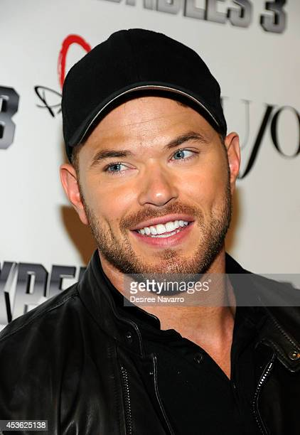 Actor Kellan Lutz attends the DuJour Summer Cover Celebration With Sylvester Stallone at Provocateur on August 14 2014 in New York City