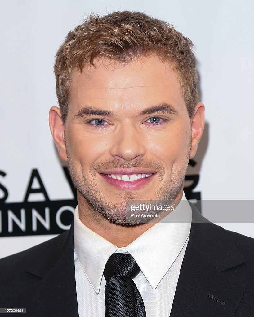 Actor <a gi-track='captionPersonalityLinkClicked' href=/galleries/search?phrase=Kellan+Lutz&family=editorial&specificpeople=683287 ng-click='$event.stopPropagation()'>Kellan Lutz</a> attends the 'Hope...Pass It On' Gala at the Sofitel Hotel on December 1, 2012 in Los Angeles, California.