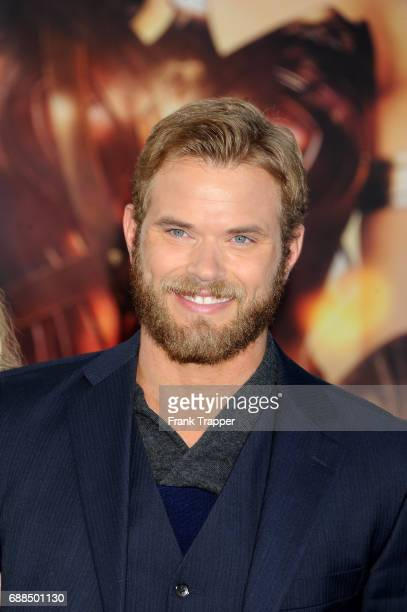 Actor Kellan Lutz attends the premiere of Warner Bros Pictures ''Wonder Woman' at the Pantages Theatre on May 25 2017 in Hollywood California
