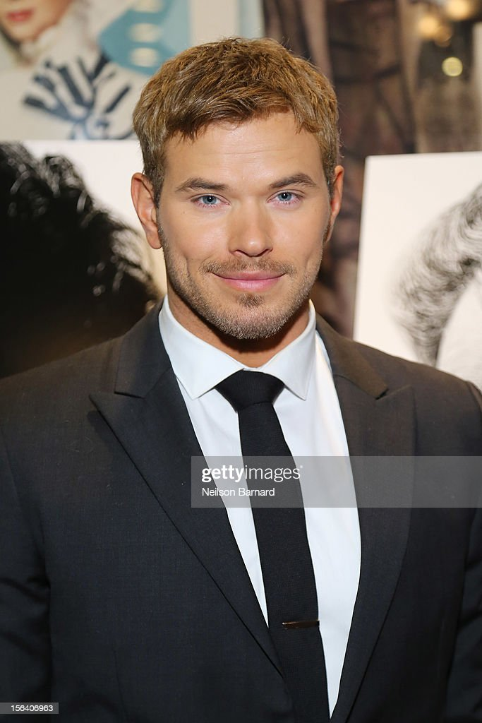 Actor Kellan Lutz attends the special screening of Steven Spielberg's Lincoln at the Ziegfeld Theatre on November 14, 2012 in New York City.