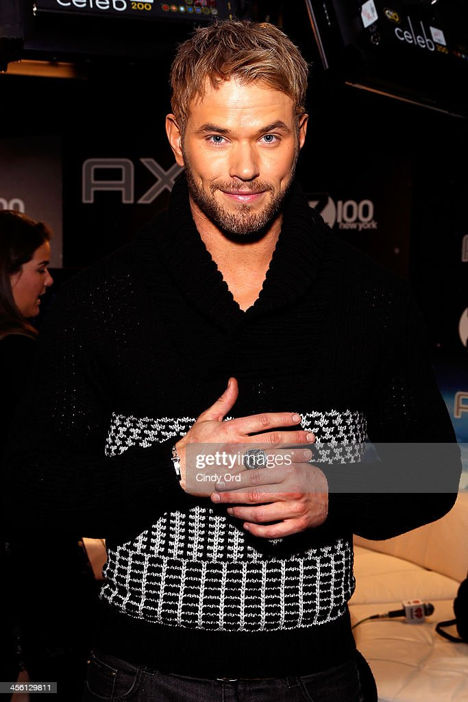 Actor <a gi-track='captionPersonalityLinkClicked' href=/galleries/search?phrase=Kellan+Lutz&family=editorial&specificpeople=683287 ng-click='$event.stopPropagation()'>Kellan Lutz</a> attends the Z100's Artist Gift Lounge presented by AXE at Z100's Jingle Ball 2013 at Madison Square Garden on December 13, 2013 in New York City.