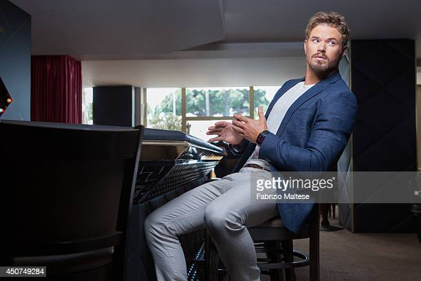 Actor Kellan Lutz is photographed in Cannes France