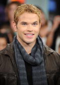 Actor Kellan Lutz visits MuchOnDemand to promote his new movie 'The Twilight Saga New Moon' at the MuchMusic HQ on November 13 2009 in Toronto Canada