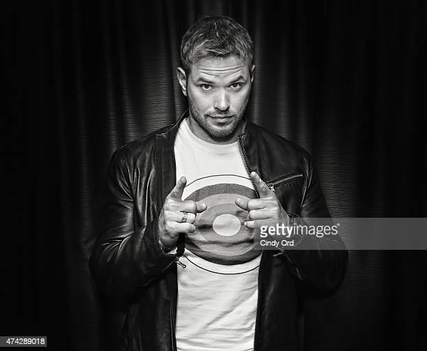 Actor Kellan Lutz visits the SiriusXM Studios on May 21 2015 in New York City