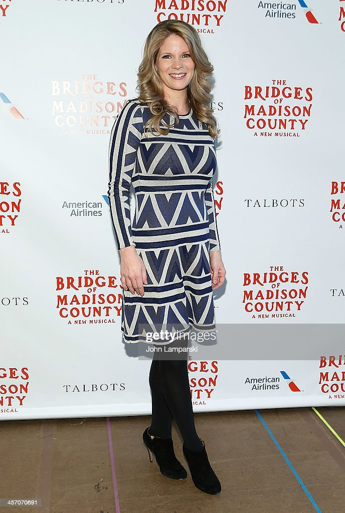 Actor Kelli O'Hara attends 'The Bridges of Madison County' Cast Photo Call at The New 42nd Street Studios on December 16, 2013 in New York City.