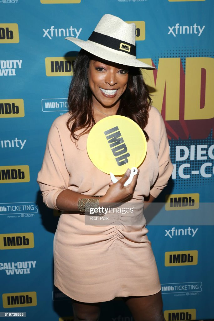 Actor Kellita Smith at the #IMDboat At San Diego Comic-Con 2017 on the IMDb Yacht on July 20, 2017 in San Diego, California.