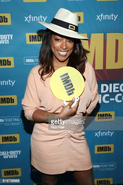 Actor Kellita Smith at the #IMDboat At San Diego ComicCon 2017 on the IMDb Yacht on July 20 2017 in San Diego California