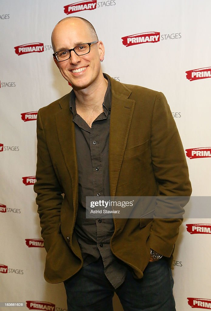 Actor Kelly Aucoin attends the 'Bronx Bombers' opening night after Party at West Bank Cafe on October 8, 2013 in New York City.