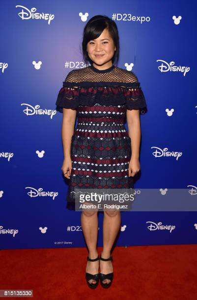 Actor Kelly Marie Tran of STAR WARS THE LAST JEDI took part today in the Walt Disney Studios live action presentation at Disney's D23 EXPO 2017 in...